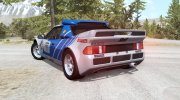 Ford RS200 Evolution Group B Rally 1986 for BeamNG.Drive miniature 3