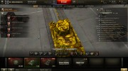 T-50 gold for World Of Tanks miniature 1