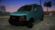 GMC Savanna for GTA Vice City miniature 1