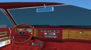 Cadillac Fleetwood Brougham 1985 Limousine for GTA Vice City miniature 9