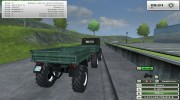 Unimog U 84 406 Series и Trailer v 1.1 Forest for Farming Simulator 2013 miniature 10