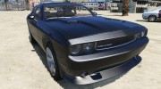 2012 Dodge Challenger SRT8 392 1.0 для GTA 5 миниатюра 1