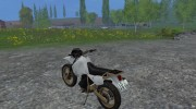 Kawasaki KLR650 for Farming Simulator 2015 miniature 6