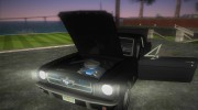 Ford Mustang 1965 for GTA Vice City miniature 6