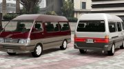 1994 Toyota HiAce Super Custom for GTA 5 miniature 1