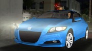 Honda CR-Z 2010 for GTA Vice City miniature 8