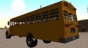 Vapid School Bus (BENSON of GTA IV) for GTA San Andreas miniature 4