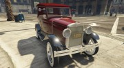 Ford T 1927 Tin Lizzie for GTA 5 miniature 1