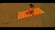 Beach Towels from GTA V (With Normal Map) для GTA San Andreas миниатюра 1