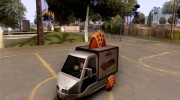 Sweeper Pizza Boy для GTA San Andreas миниатюра 1