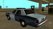 Ford LTD Crown Victoria 1991 Massachusetts for GTA San Andreas miniature 4