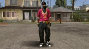 Hip Hop Free Fire Skin for GTA San Andreas miniature 1