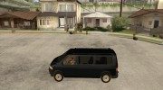 VW Transporter T5 2.5 TDI long для GTA San Andreas миниатюра 2