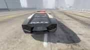 Lamborghini Reventón Hot Pursuit Police AUTOVISTA 6.0 для GTA 5 миниатюра 6