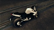 Yamaha FZ6 for GTA San Andreas miniature 3