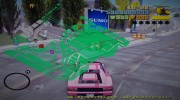 HQ Green Radar for GTA 3 miniature 3