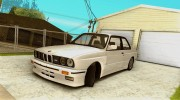 Bmw M3 E30 Stock for GTA San Andreas miniature 1