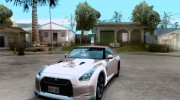 Nissan GTR R35 for GTA San Andreas miniature 1