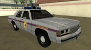 Ford LTD Crown Victoria 1991 Mississippi State Trooper for GTA San Andreas miniature 2