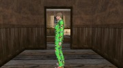 Female Green Pajamas DLC for GTA San Andreas miniature 4