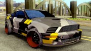 Ford Mustang Evil Empire 2016 для GTA San Andreas миниатюра 1