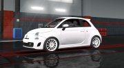 Fiat 500 Abarth for Euro Truck Simulator 2 miniature 2