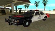 Ford LTD Crown Victoria 1991 Copley Police DARE black, white and red for GTA San Andreas miniature 1