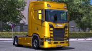 Scania S730 With interior v2.0 for Euro Truck Simulator 2 miniature 1