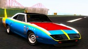 Plymouth Roadrunner Superbird RM23 1970 для GTA San Andreas миниатюра 9