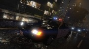 1999 Ford Crown Victoria LAPD for GTA 5 miniature 4
