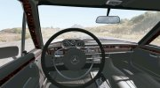 Mercedes-Benz 300 SEL 6.3 (W109) 1968 for BeamNG.Drive miniature 3
