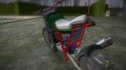 Honda FTR Custom v3.0 for GTA Vice City miniature 5