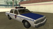 Chevrolet Caprice 1987 New York Transit Police for GTA San Andreas miniature 3