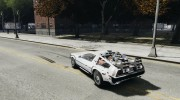 DeLorean DMC-12 (BTTF1) for GTA 4 miniature 3