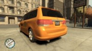 2006 Honda Odyssey (US) Taxi for GTA 4 miniature 2