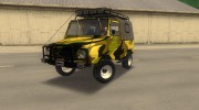 ЛуАЗ 969М Off-Road Лесной камуфляж for GTA 3 miniature 1