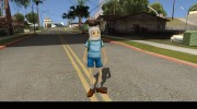 Finn From Cartoon Network Universe Fusionfall Heroes для GTA San Andreas миниатюра 3