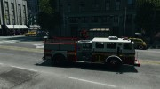 NEW Fire Truck for GTA 4 miniature 5