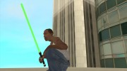 Световой меч из STAR WARS for GTA San Andreas miniature 4