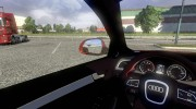 Audi S4 + интерьер for Euro Truck Simulator 2 miniature 8