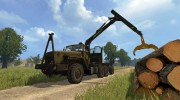 Урал 4320 Лесовоз for Farming Simulator 2015 miniature 7
