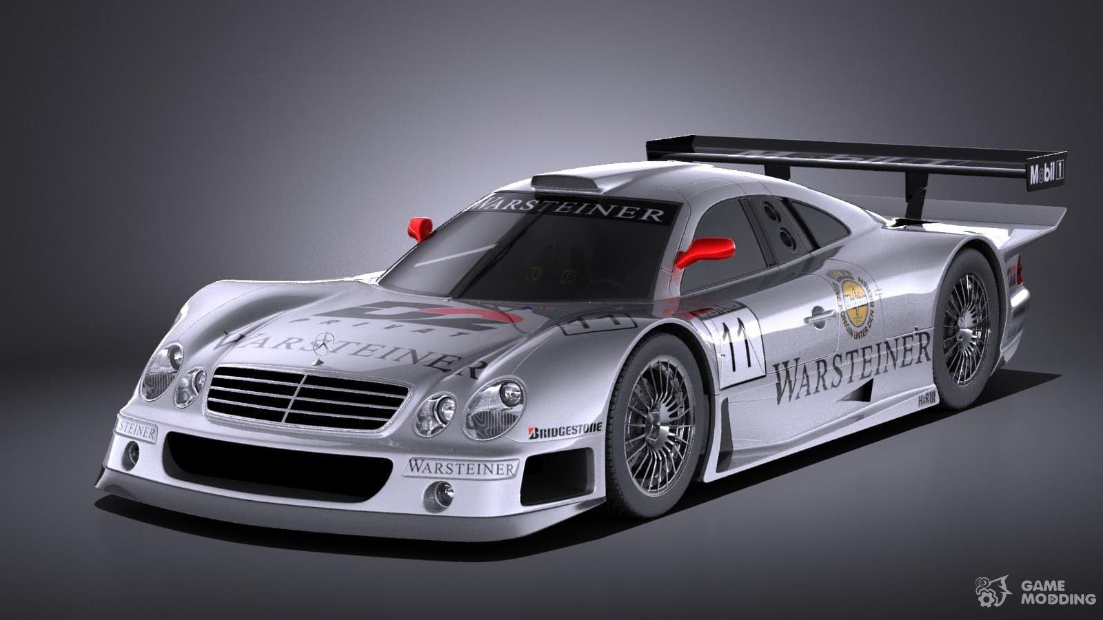 Mercedes Benz Clk Gtr Super Sport De Sonido En Interiores