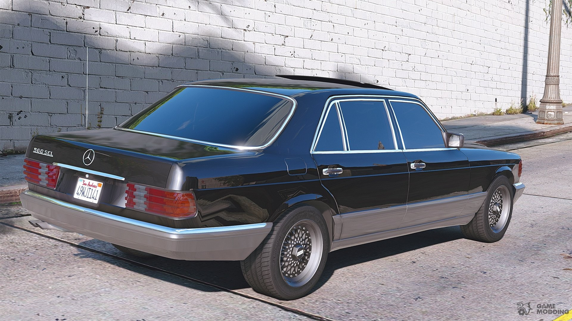 1990 Mercedes Benz W126 560sel 1 1a For Gta 5