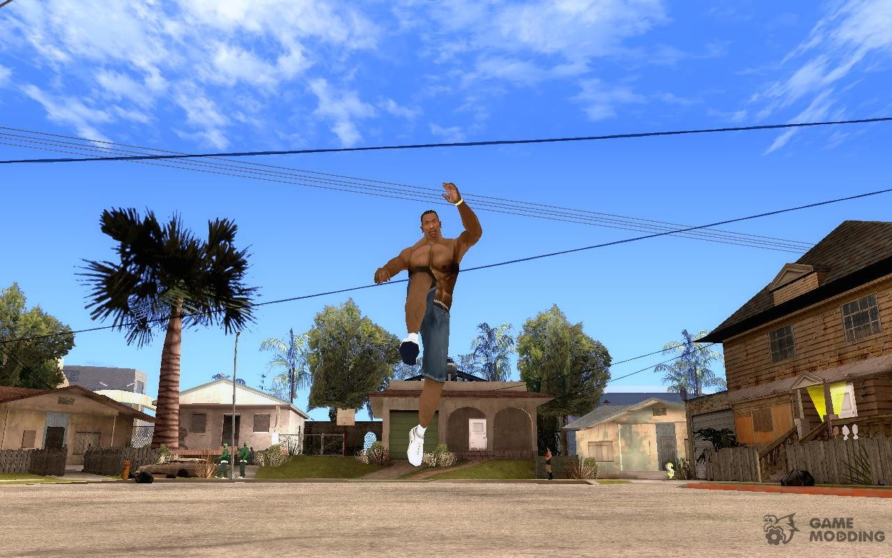 how to jump in gta san andreas