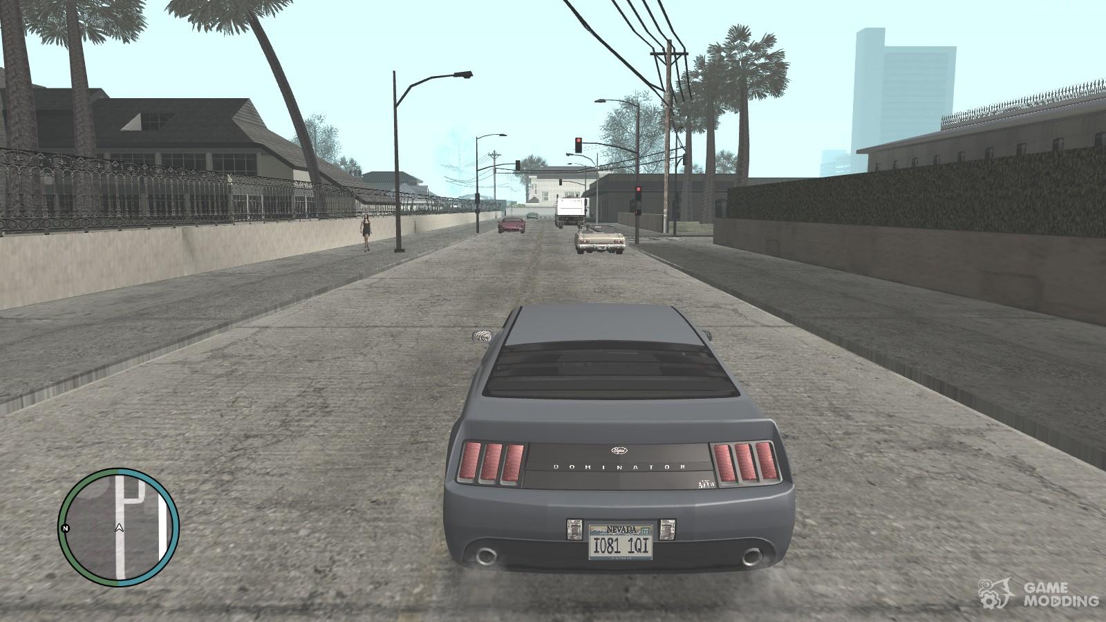 GTA IV HUD Mod for GTA San Andreas
