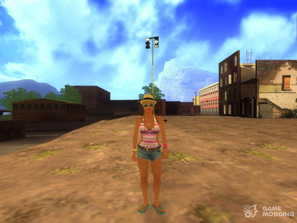 Tracey De Santa para GTA San Andreas