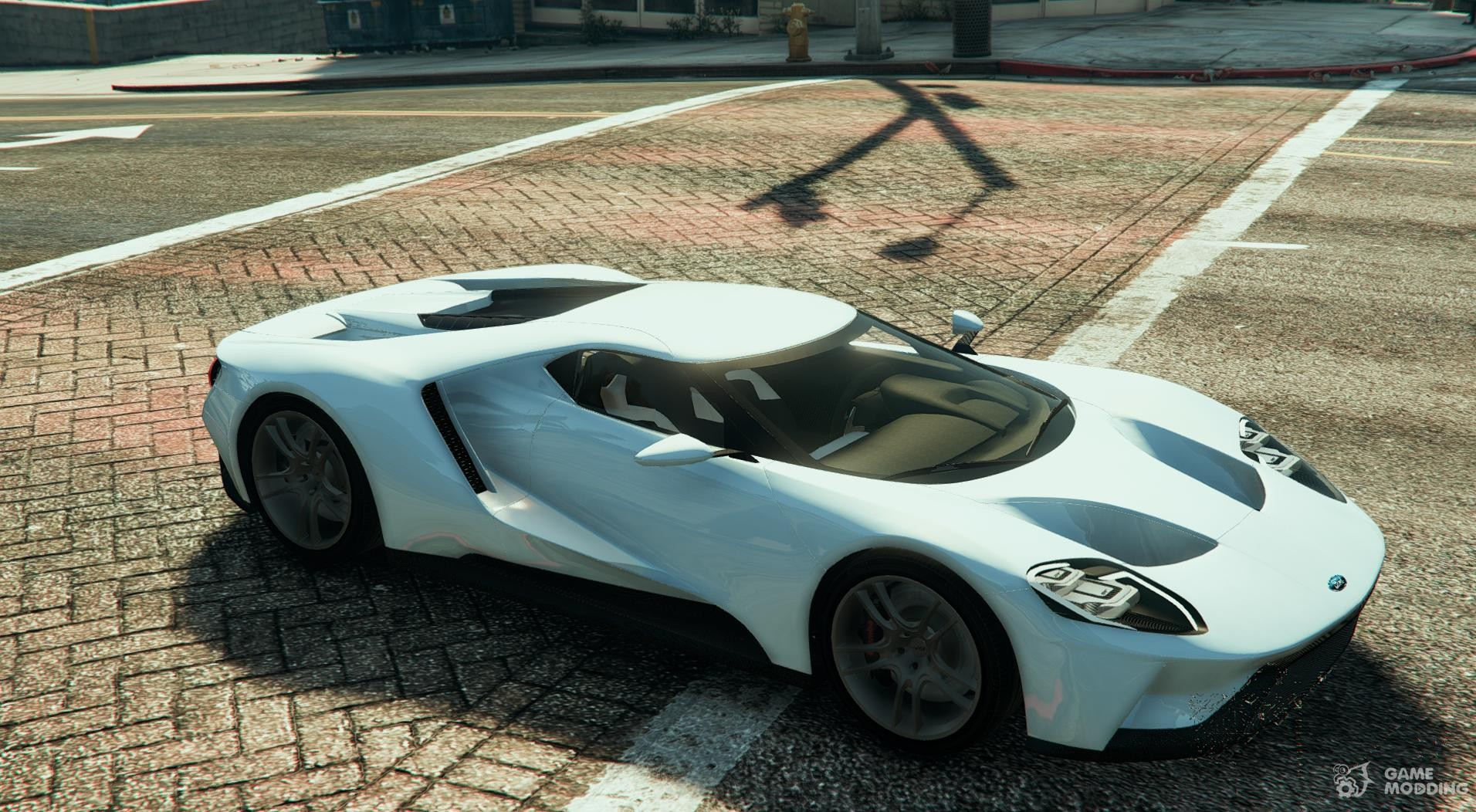 Ford Gt For Gta  Inside View