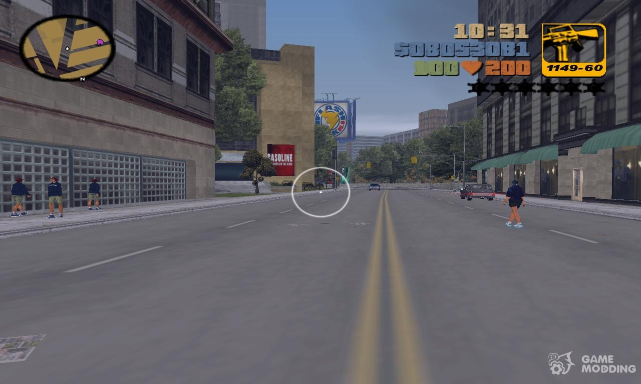 First Person Mod for GTA 3