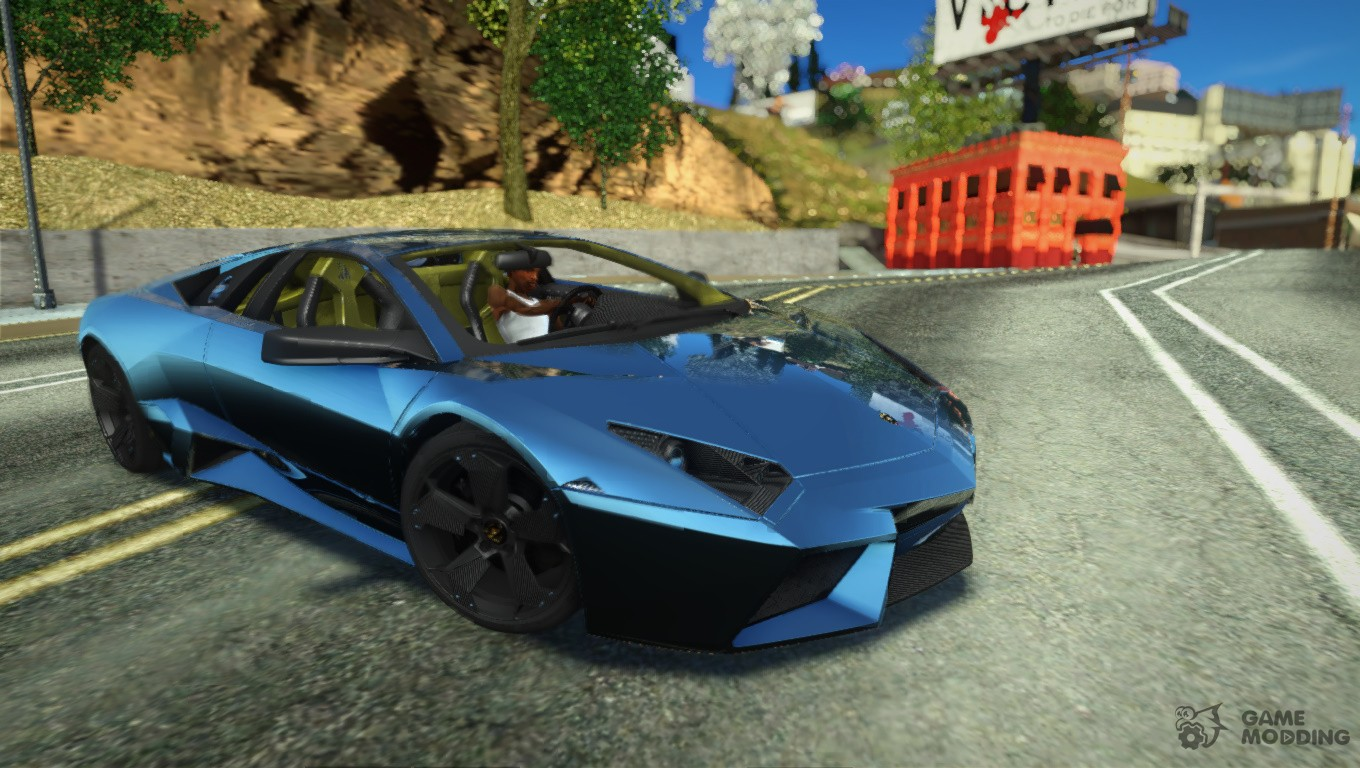 2007 Lamborghini Reventon for GTA San Andreas