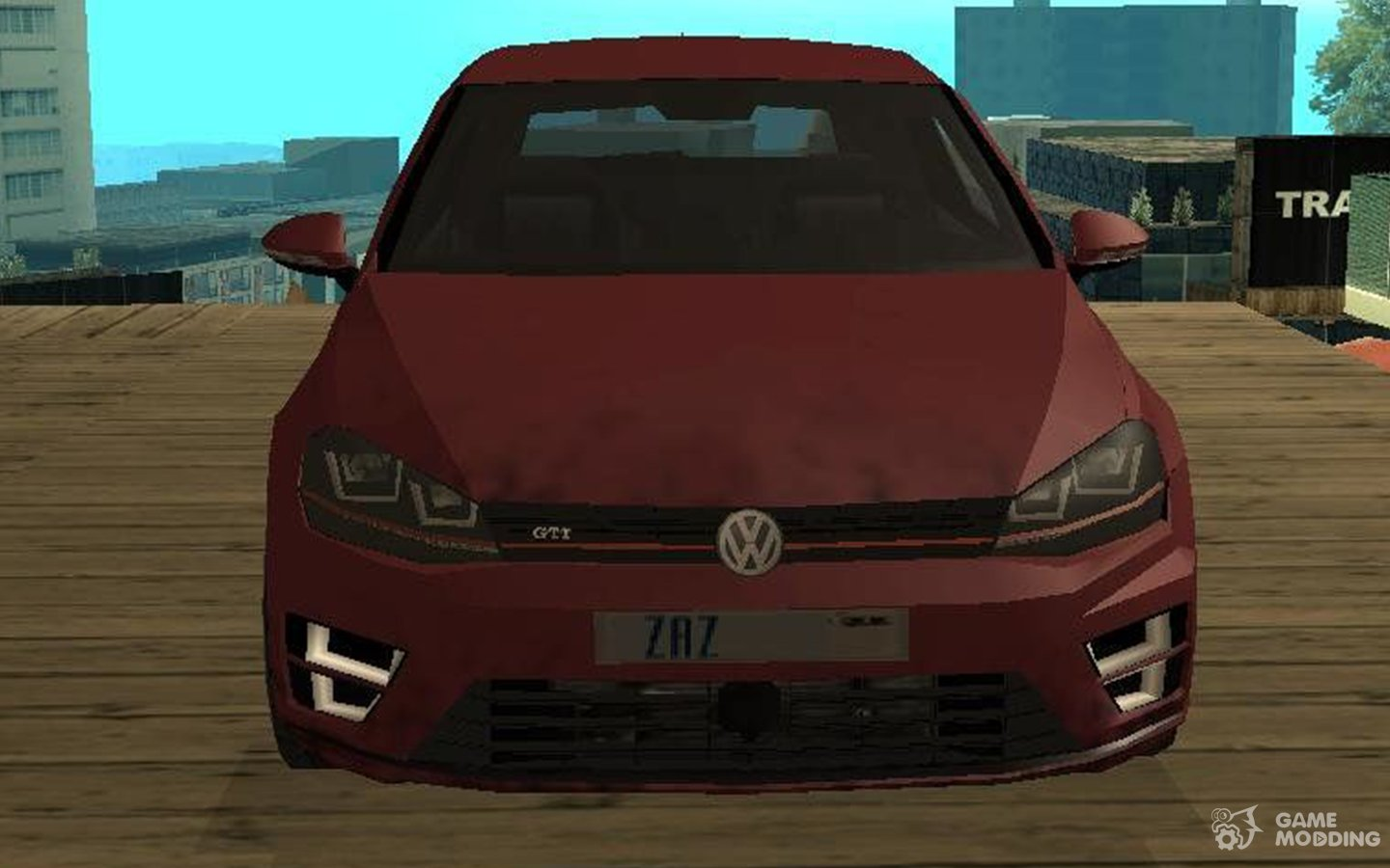 Volkswagen Golf 2014 SA Style for GTA San Andreas